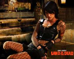 Asia Argentino, Land of the Dead, Zombie Movies