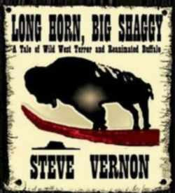 Cover from one of the more unusual Zombie Books, Long Horn, Big Shaggy