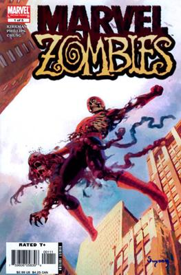 marvel zombies by marvel comics in zombie books category