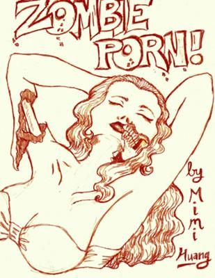 Zombie Porn Cover, in zombie drawings