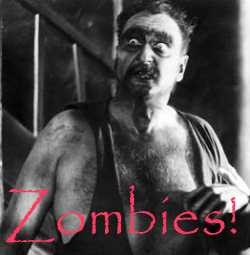 Zombie from the movie, White Zombie