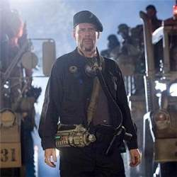 bruce willis in planet terror, zombie movies